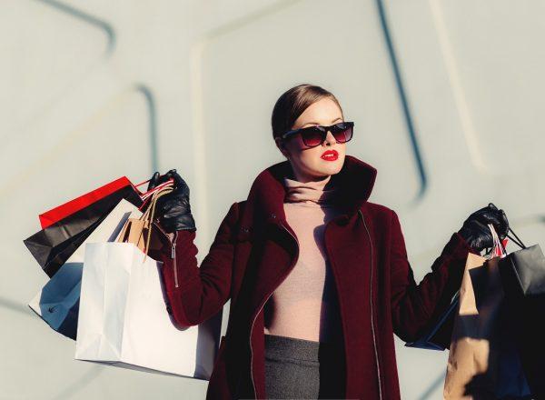 shopping, woman